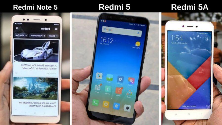 Xiaomi Redmi 5 Vs 5A 1
