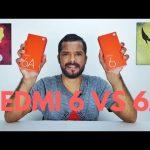 Xiaomi Redmi 6 Pro Vs Redmi 6 3