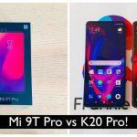Xiaomi Redmi K20 Pro Vs Mi 9 T 2