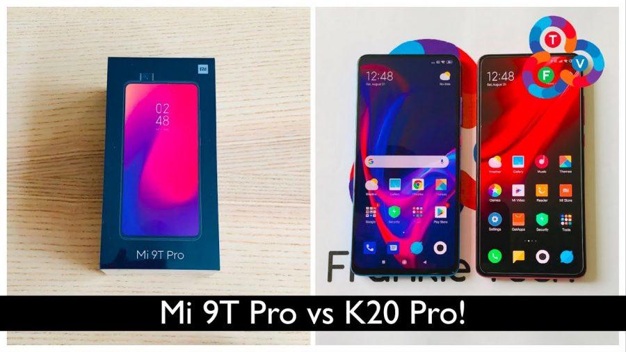 Xiaomi Redmi K20 Pro Vs Mi 9 T 1