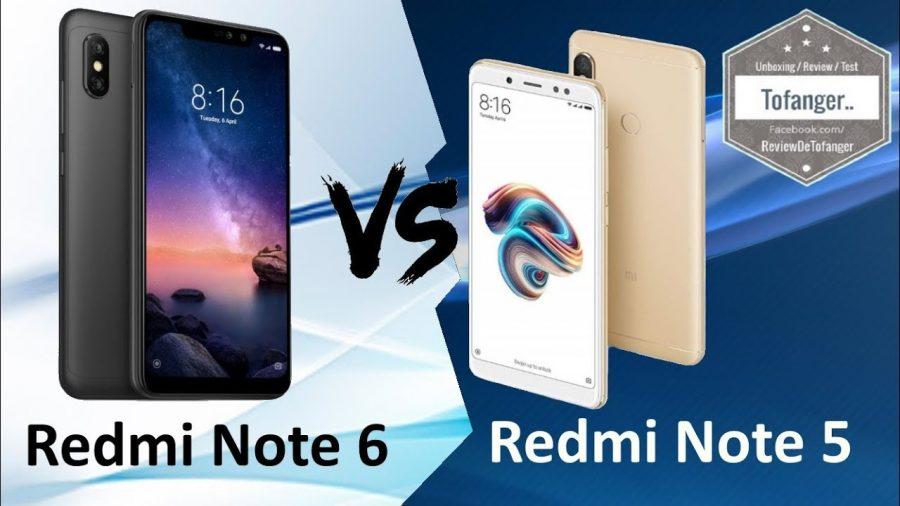 Xiaomi Redmi Note 6 Pro Vs Redmi Note 5 1