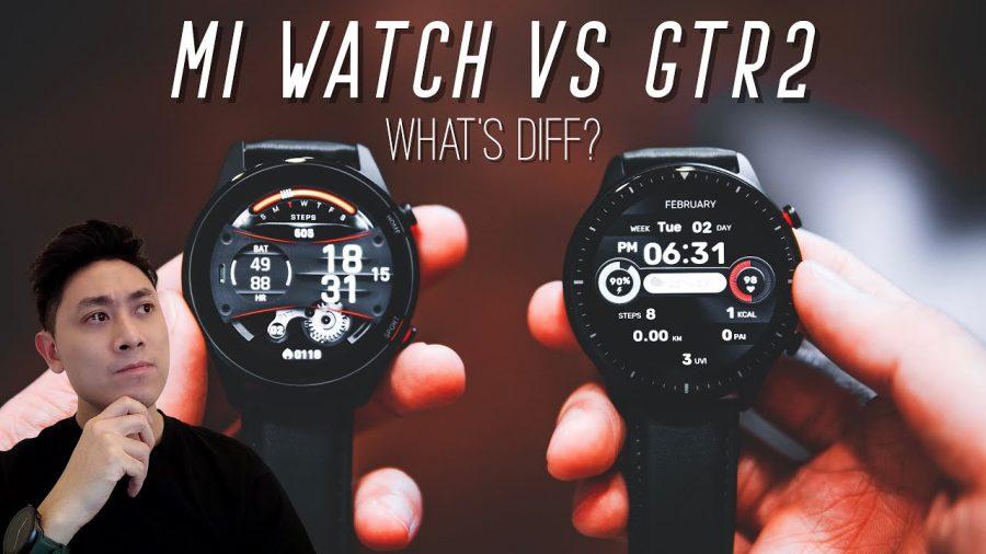 Xiaomi Stratos 2 Vs Huawei Watch Gt 1