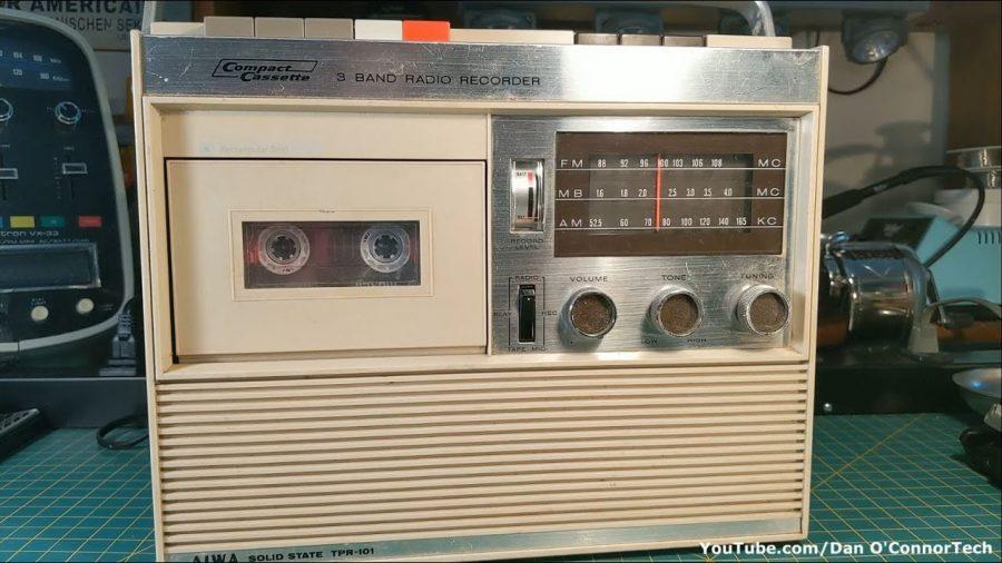 Aiwa Radio Cassette Player 1