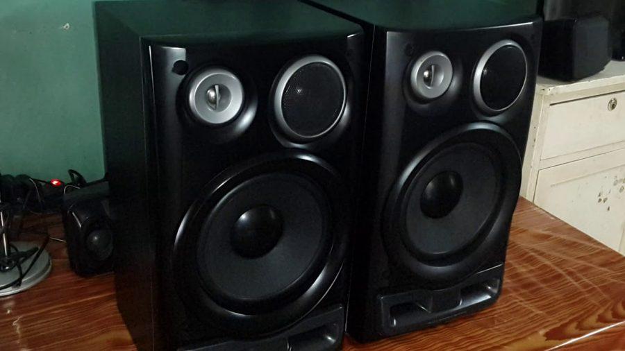 Aiwa Twin Duct 3 Way Bass Reflex Speaker System 1