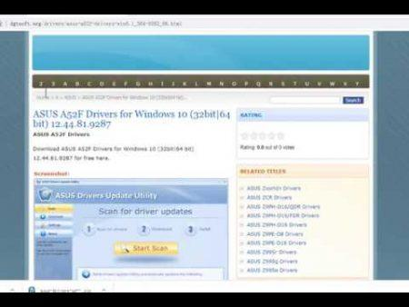 Asus A52F Windows 10 1