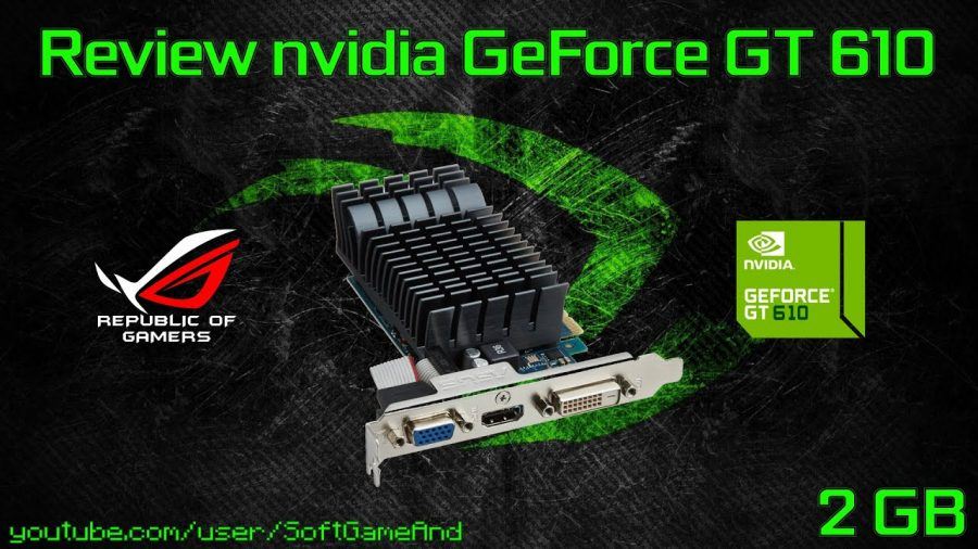Asus Geforce Gt610 Silent 1Gb Gddr3 1