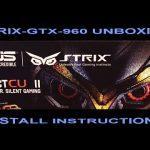 Asus Geforce Gtx 960 Strix Oc 4Gb 4