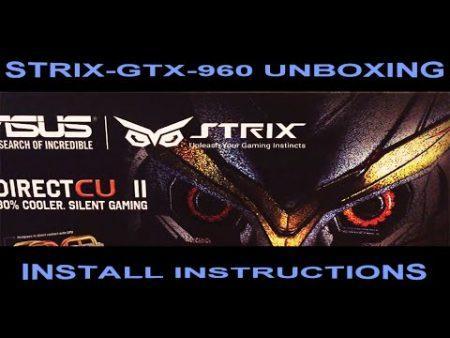 Asus Geforce Gtx 960 Strix Oc 4Gb 1
