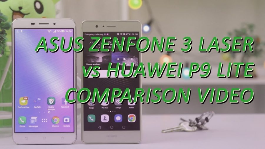Asus Zenfone 3 Vs Huawei P9 Lite 1