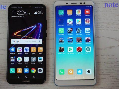 Comparativa Xiaomi Redmi Note 5 Vs Huawei P20 Lite 23