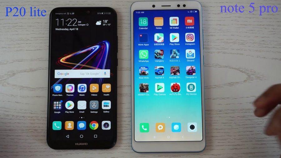 Comparativa Xiaomi Redmi Note 5 Vs Huawei P20 Lite 1
