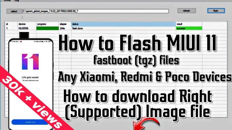 Flash All Bat Xiaomi 1