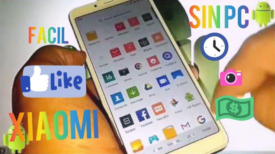Formatear Xiaomi Mi A2 1