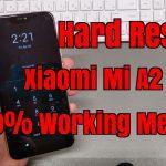 Hard Reset Xiaomi Mi A2 3