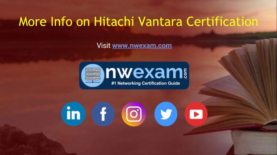 Hitachi Certification 1