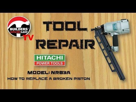 Hitachi Roofing Nail Gun 1