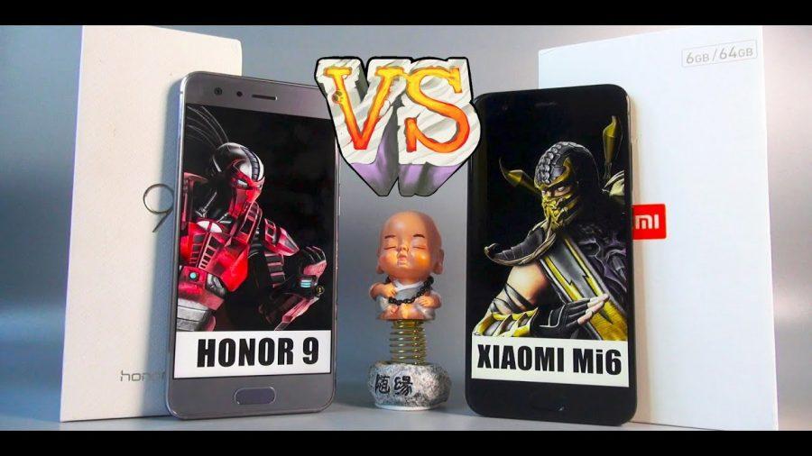 Honor 9 Vs Xiaomi Mi6 1