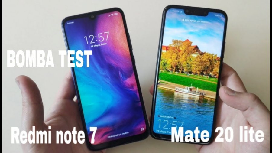 Huawei Mate 20 Lite Vs Xiaomi Note 6 Pro 1