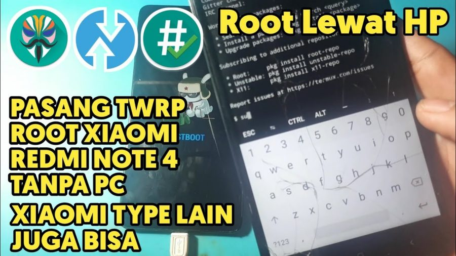 Root Xiaomi Redmi Note 4X Without Pc 1