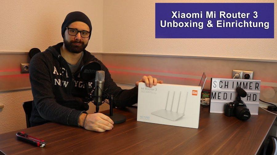 Router Xiaomi Mi 3 1