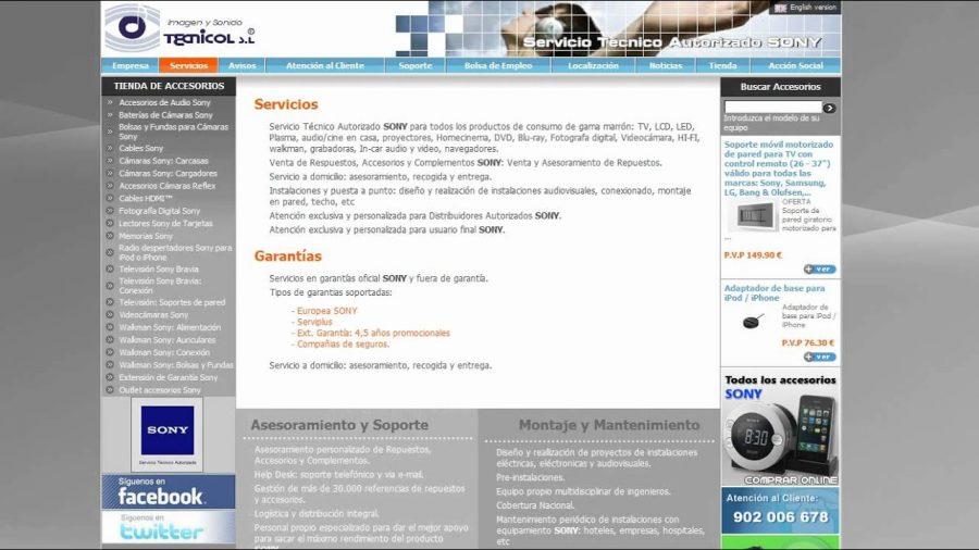 Servicio Oficial Aiwa Madrid 1
