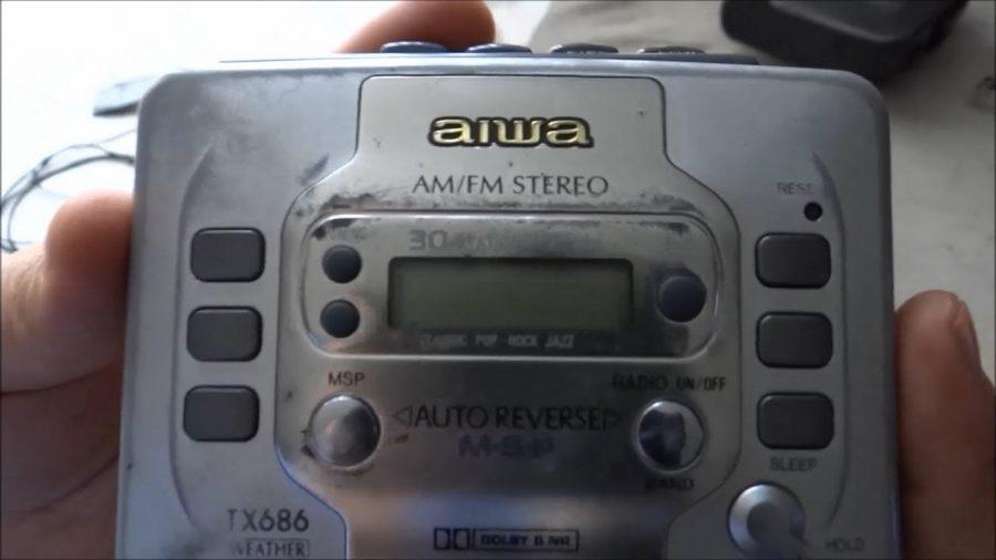 Walkman Radio Cassette Aiwa 1