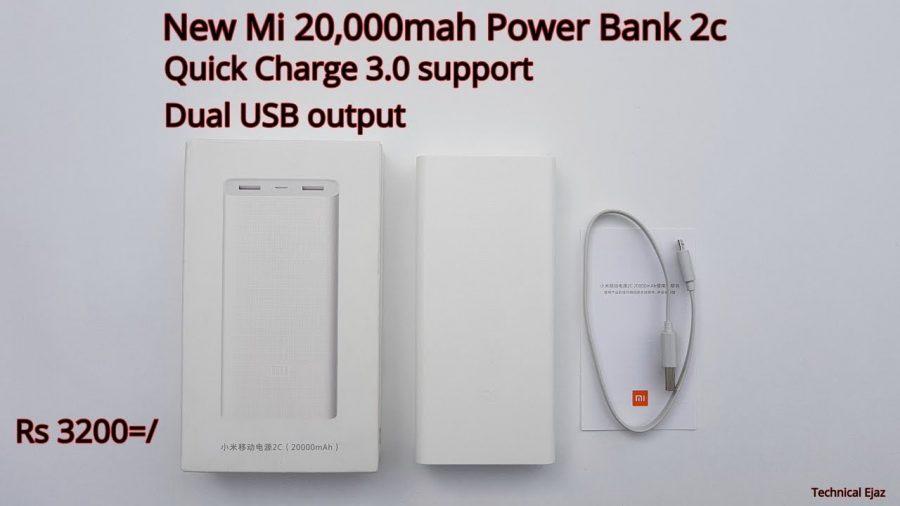 Xiaomi 20000Mah Mi Power Bank 2C 1