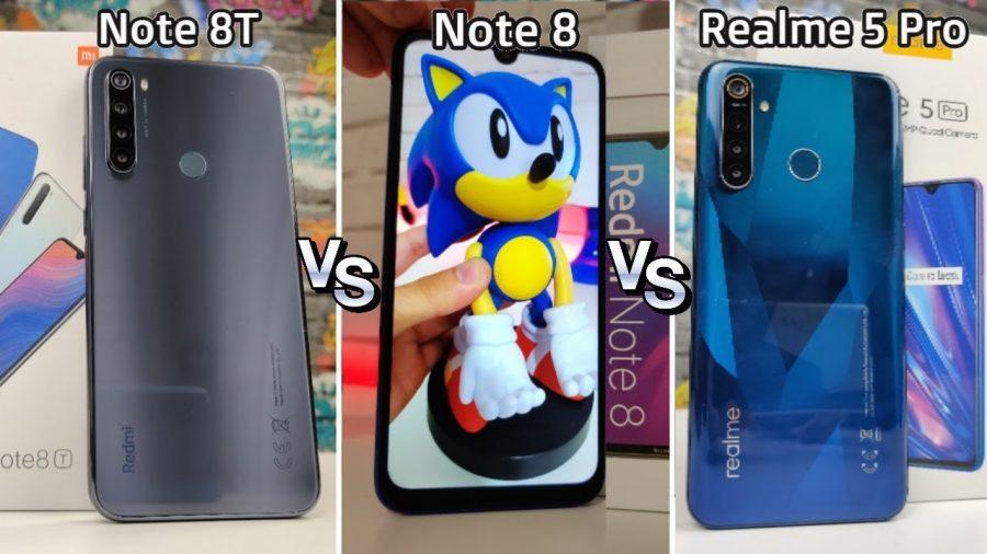 Xiaomi Mi 9T Vs Xiaomi Redmi Note 8T 1