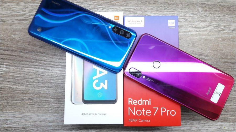 Xiaomi Mi A3 Vs Xiaomi Redmi 8 1