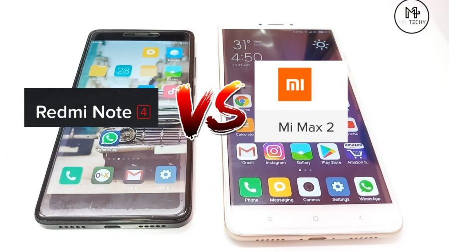 Xiaomi Mi Max 2 Vs Redmi Note 5 1
