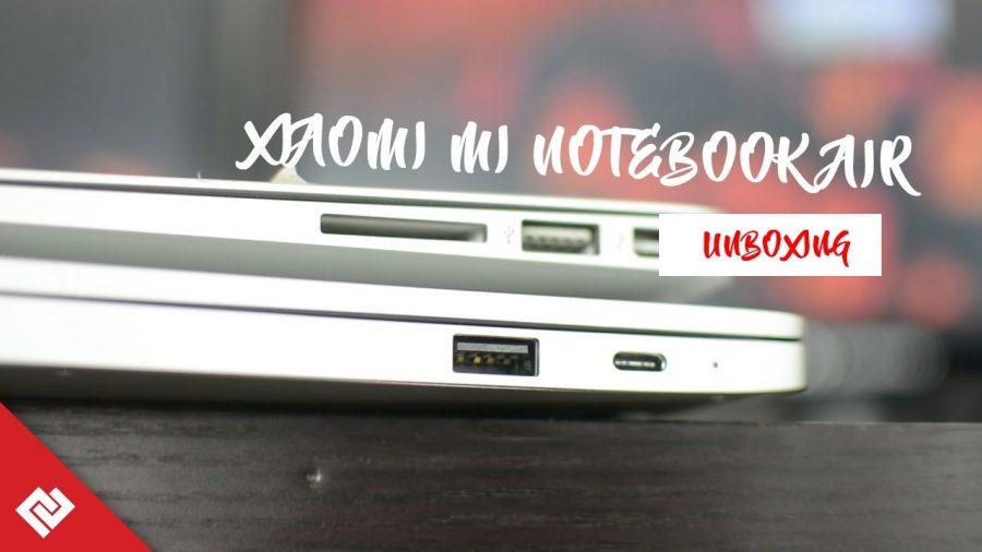 Xiaomi Mi Notebook Air Vs Macbook Air 1