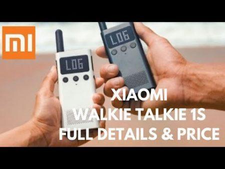 Xiaomi Mijia Walkie Talkie Review 1