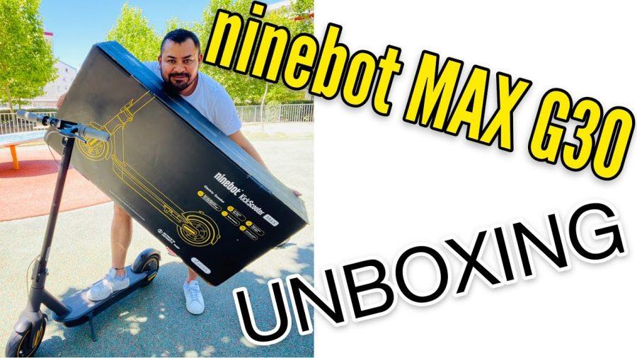 Xiaomi Ninebot Max G30 1