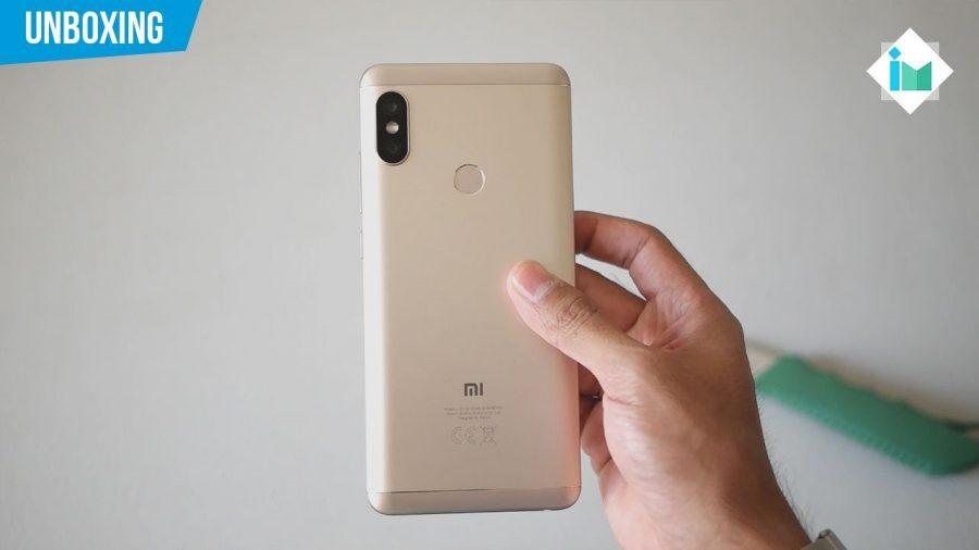 Xiaomi Note 6 Pro Dorado 1