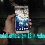Xiaomi Redmi Note 3 Cyanogenmod 1