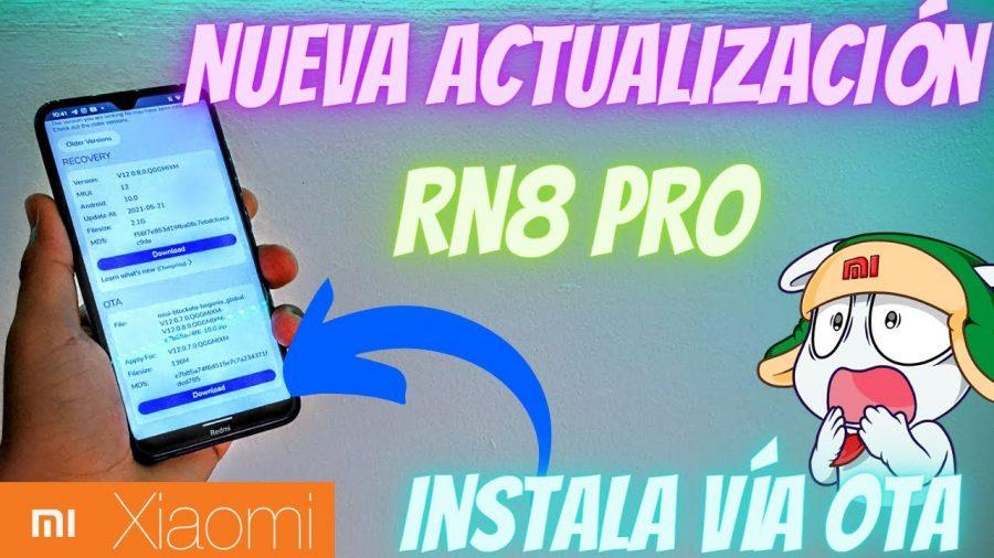 Xiaomi Redmi Note 8 Pro Actualizaciones 1