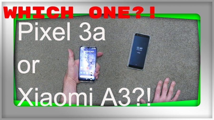 Xiaomi Vs Pixel 3A 1