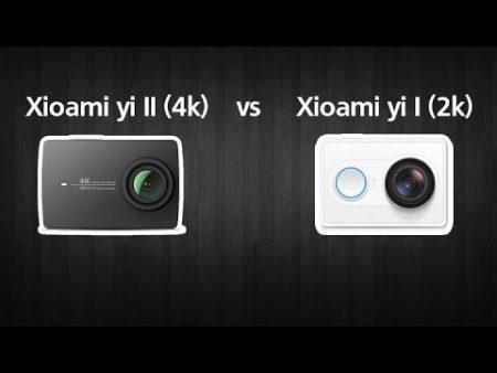 Xiaomi Yi 4K Vs Xiaomi Yi 4K Plus 1